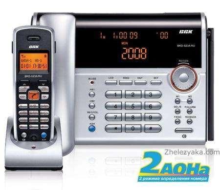 BBK выпустила свои первые DECT-Телефони