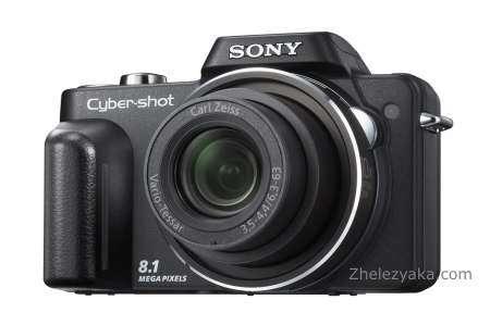 Sony анонсировала фотокамерe Cyber-shot H10 с мощным зум-объективом