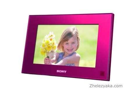 Sony выпустила новые фоторамки и фотопринтеры