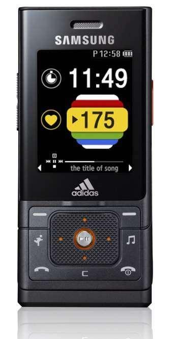 Samsung и Adidas представили совместный телефон