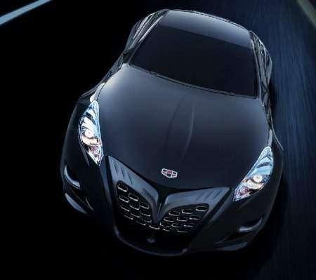 Geely покажет в Пекине концепт спорткара GT