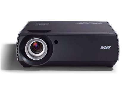 Acer представил новую линейку HD ready видеопроекторов