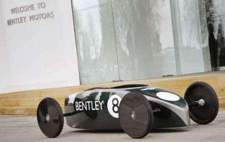 Стажеры Bentley разработали экологический автомобиль Greenpower