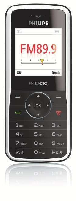Philips выпустил Телефони за 1,5 тыс. руб