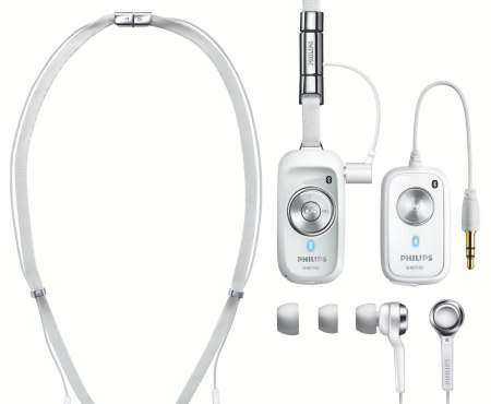 Philips представила Bluetooth стереогарнитуру