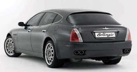 Maserati Quattroporte стал фастбеком