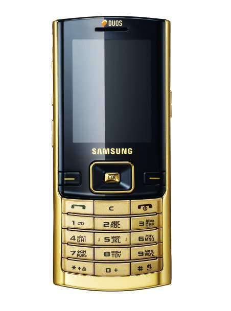 Samsung Duos D780 Gold