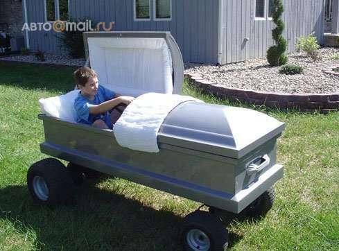 гроб на колесах