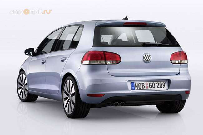 Новый Volkswagen Golf