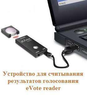 Считыватель информации eVote reader