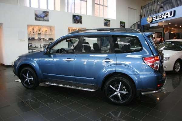 тюнингованный Subaru Forester