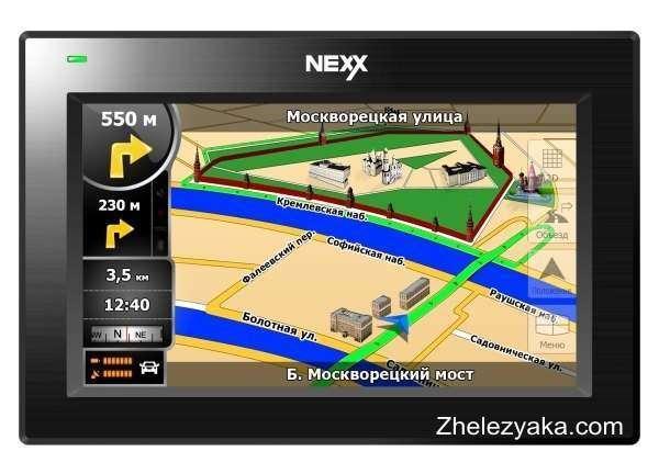 GPS-навигатор Nexx NNS-4301