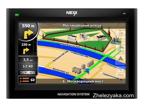 GPS-навигатор Nexx NNS-4310