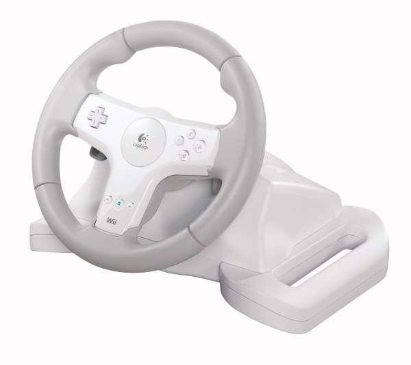 Logitech анонсував спортивний ігровий кермо для приставки Wii