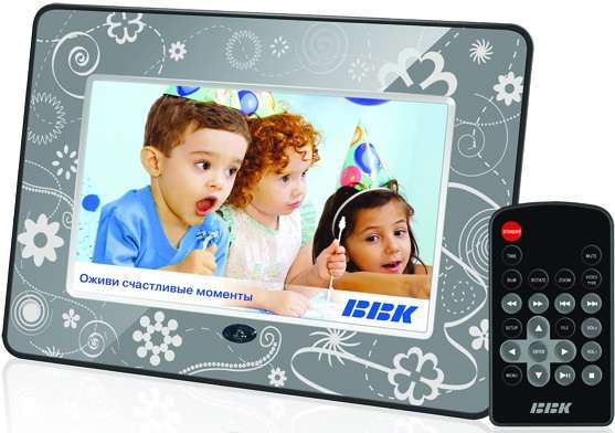 Нові цифрові фоторамки від BBK