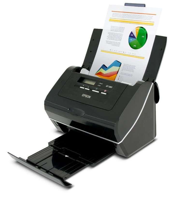 Нові потокові сканери Epson GT-S50 і GT-S80