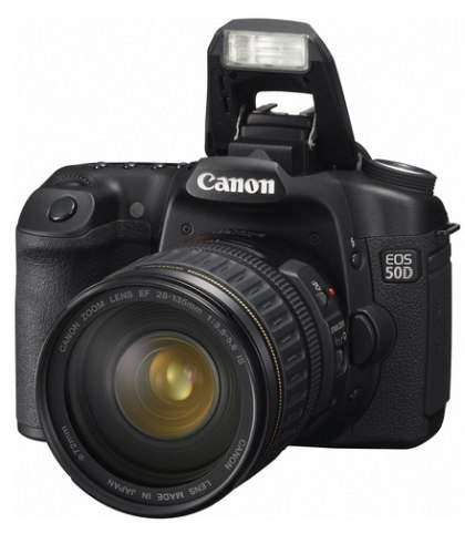 Canon анонсував EOS 50D