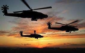 військові вертольоти